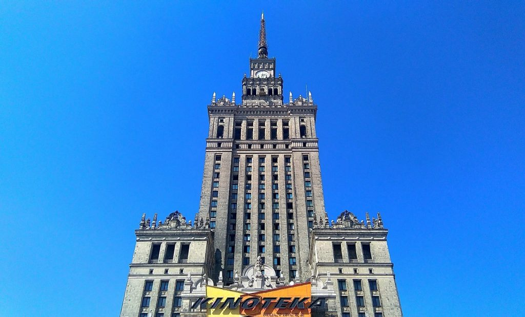 Enjoy unparalleled view of Warsaw from the observation deck at the Palace of Culture and Science
