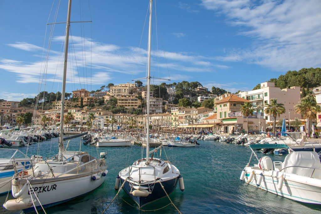 Port de Soller in Majorca
