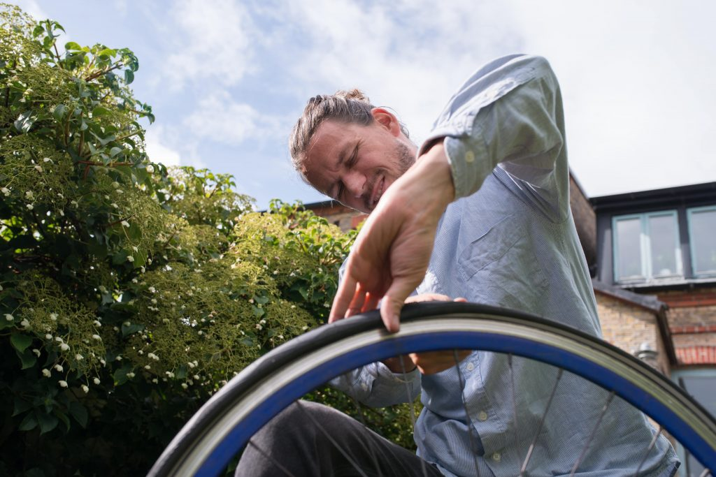 Check your Wheelchair Tyres Every Week