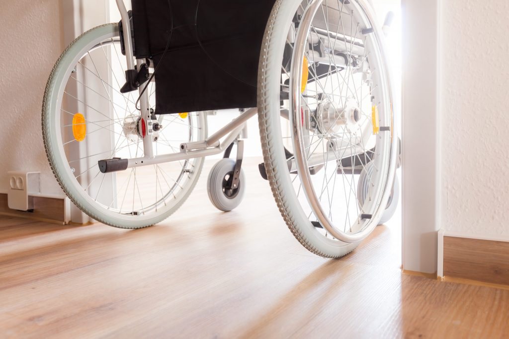 A Disabled Facilities Grant could be used for things like widening doors