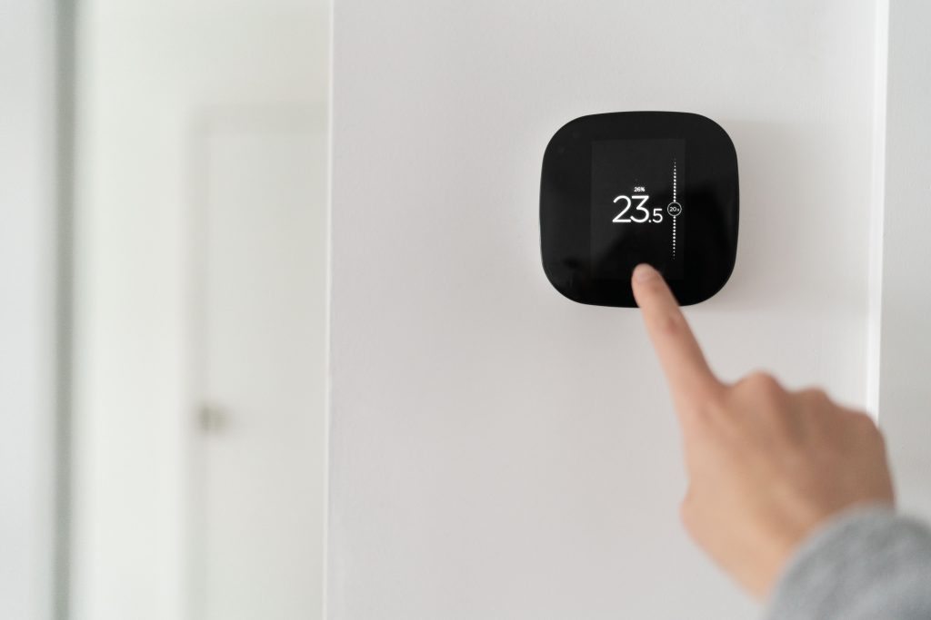 Smart thermostats can stop you having to bend to reach radiator valves