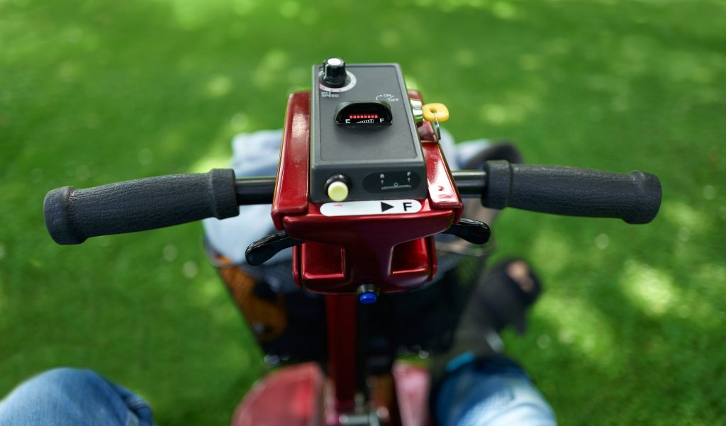 Accessible attractions for mobility scooter users