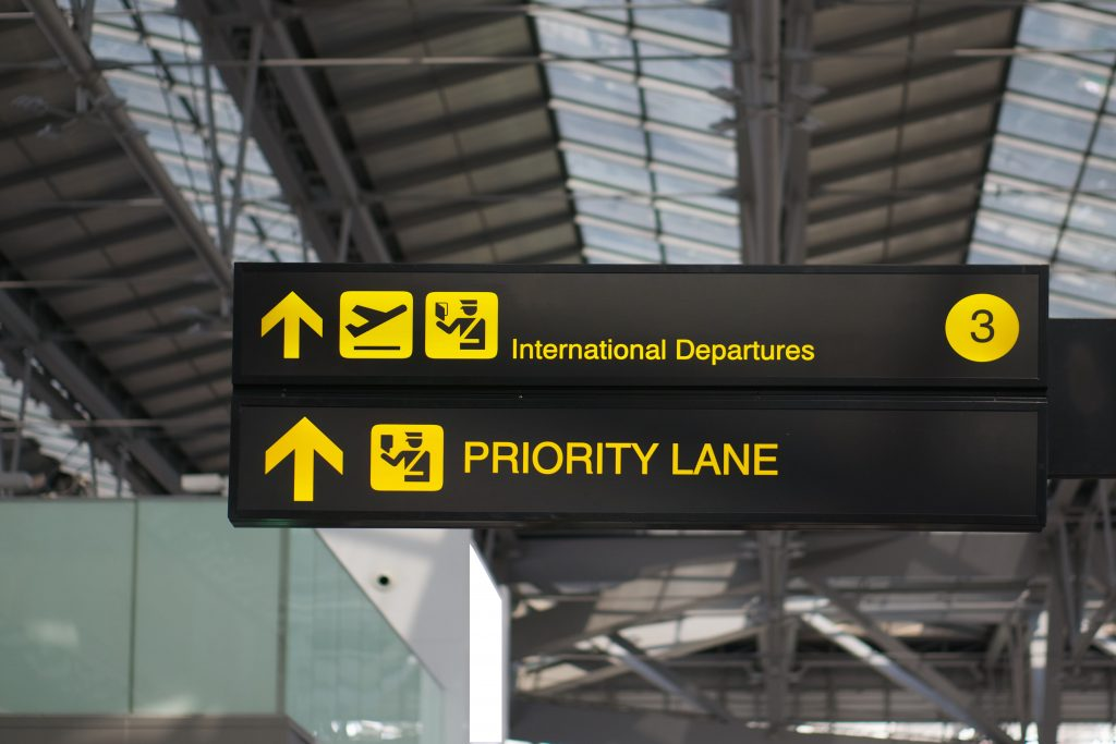 Travel Priority Boarding